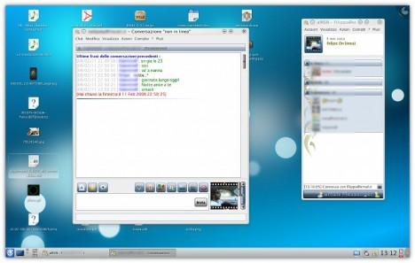 MSN per Linux, aMSN su KDE 4.3 svn - Pollycoke :)