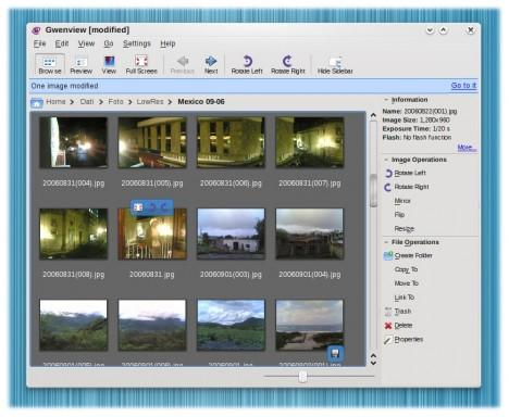 Gwenview KDE 4 - Pollycoke :)