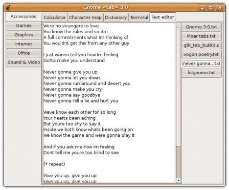GNOME 3 - Pollycoke :)