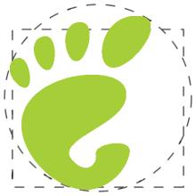 Vitruvian GNOME - Pollycoke :)