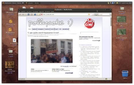 Ubuntu 8.10 Intrepid Ibex - Pollycoke :)