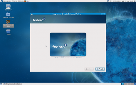 Fedora 10 Installer - Pollycoke :)