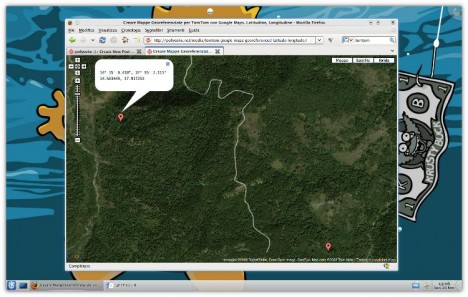 TomTom Google Maps Georeference - Pollycoke :)