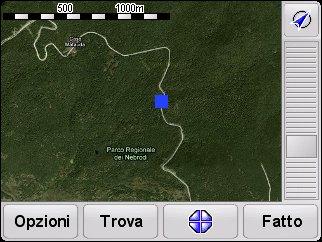 tomtom map overlay
