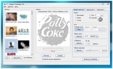 Shape Collage - Pollycoke :)
