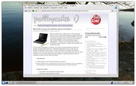 KDE 4.3svn Konqueror WebKit - Pollycoke :)