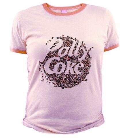 T-Shirt - Facce da Pollycoke :)