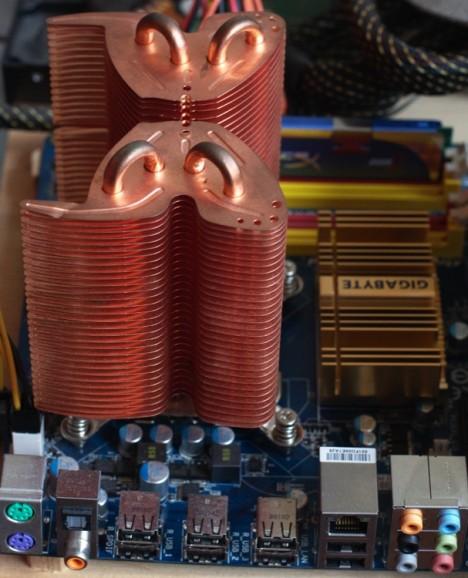 Computer de legno, dissipatore