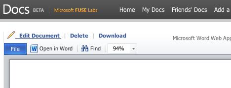 Docs.com Gestione