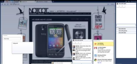 Google Chrome OS - gestione dei pannelli