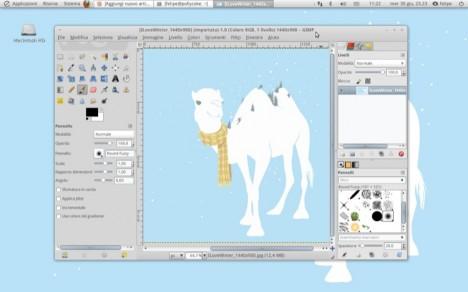 GIMP 2.7 single window