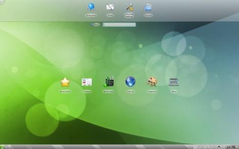 KDE 4.5.2 attività Search & Launch