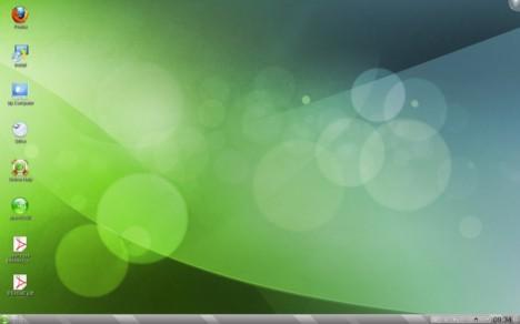 KDE 4.5.2 attività Folder View