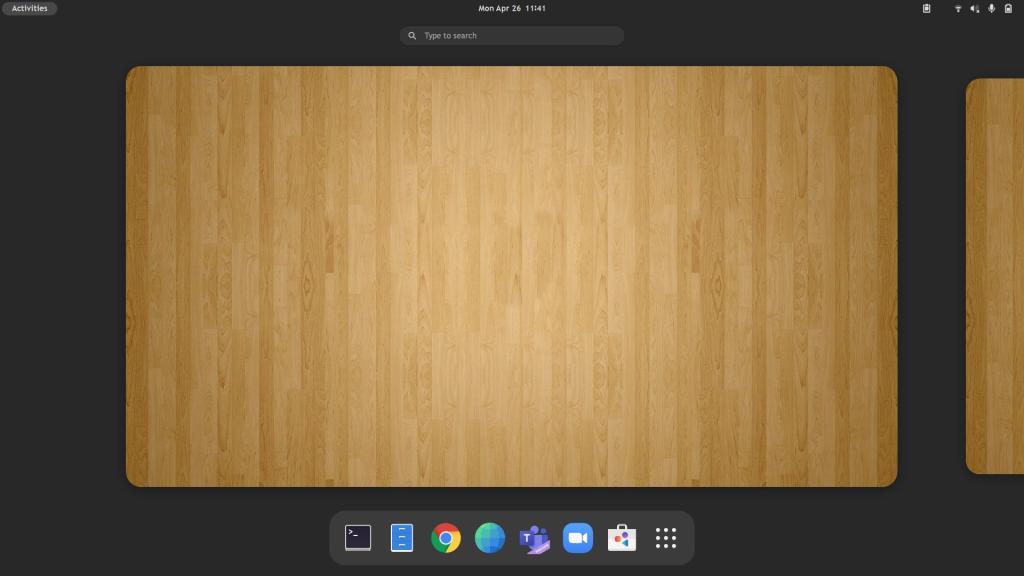 desktop attuale
